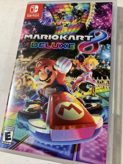 Mario Kart 8 - Deluxe - Nintendo Switch Luigi Toad Princess Mariokart yoshi MORE