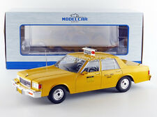 MCG 1991 Chevrolet Caprice New York City Taxi Yellow 1/18 Scale New! In Stock!