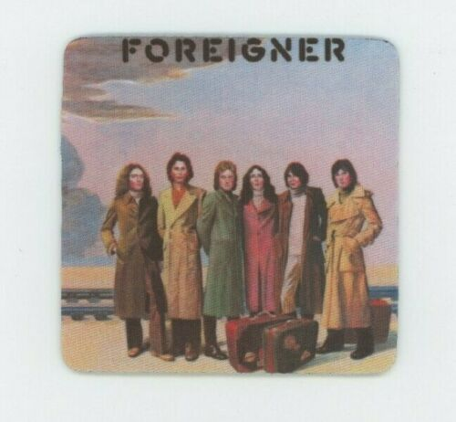 Record Album COASTER Foreigner Rock Band Self Titled Debut