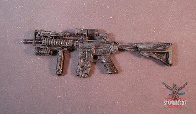 "WEA056 custom weapon gun cast use with 3.75/"" GI Joe Marvel figures"