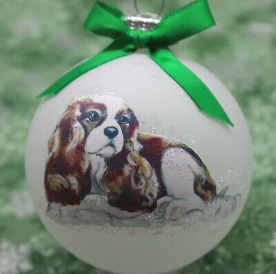 Rd061 Hand Made Christmas Ornament Dog
