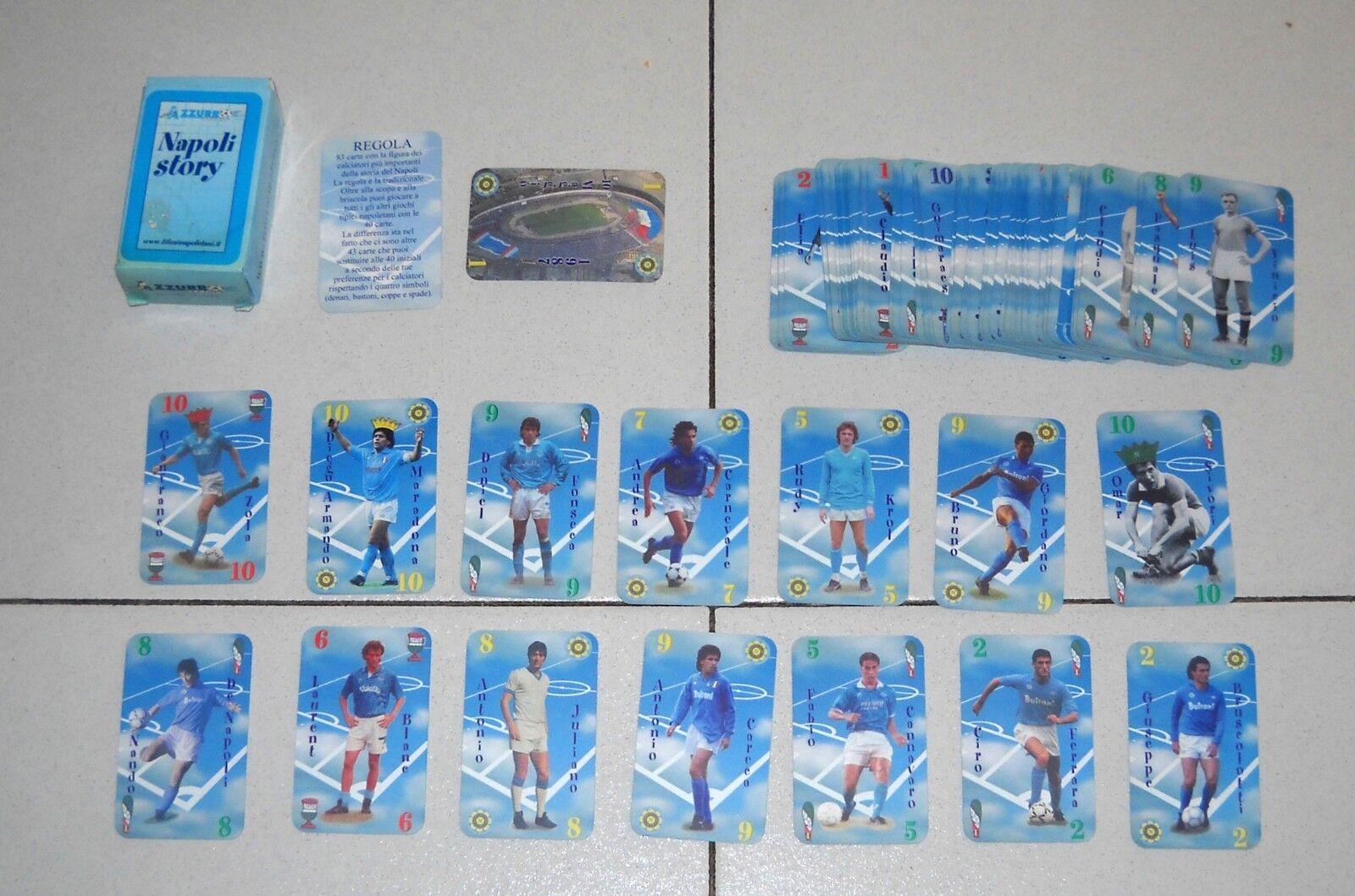 83 cards dramas Naples Story Football bluee Stage 1987 cards maradona