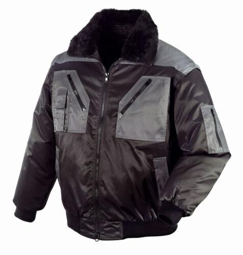 Texxor oslo pilotos chaqueta 4in1-chaqueta negro//antracita invierno chaqueta chaqueta de trabajo