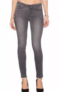 Ankle Grey Verdugo Sz Hem Raw London Jeans Grey Nwt Paige Midrise skinny 24 W7fUqBn
