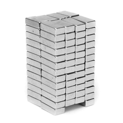 10PCS N35 Square F8x3x2mm Rare Earth Permanent Magnet Strong MagneticG