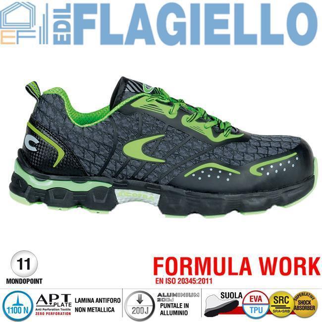 Scarpa da Lavoro Antinfortunistica Cofra LOW KICK GREY S1 P SRC taglie 36 - 47 | Qualità Affidabile  | Uomo/Donne Scarpa