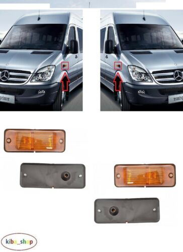 MERCEDES SPRINTER W906 2006-2013 2X NEW SIDE INDICATOR REPEATERS L R AMBER