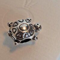 Authentic Pandora Charm Turtle 790158
