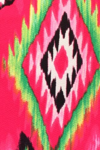 SET* New Color Aztec Print Cropped Open Back Top /& Pencil Bodycon Midi Skirt USA