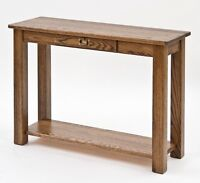 Mission Style Arts And Crafts Sofa Table 4839
