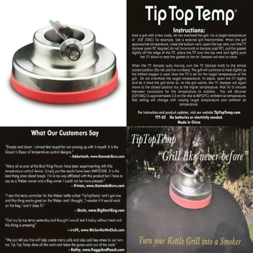 Tip Top Temp Attachable Grill Temperature Regulator TTT-02