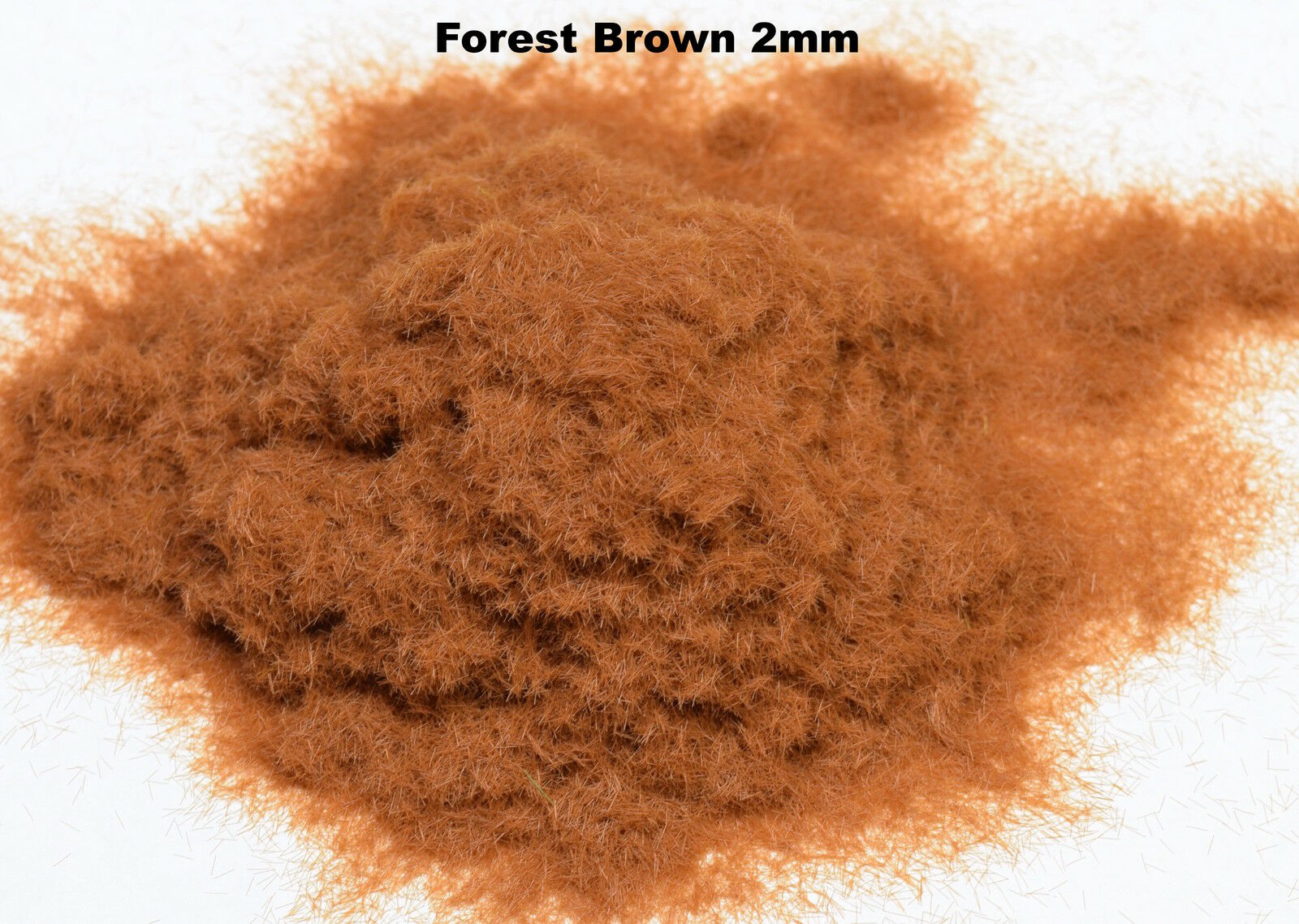 WWS 2mm marrón Static Grass Hornby Peco Railway Scenery Scenery Scenery 10, 25, 50 & 100g 71a461