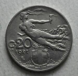 1921-Kingdom-Italy-20-Cents-Liberty