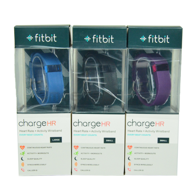 Fitbit FB404BKL Charge Wireless Activity Wristband for sale online