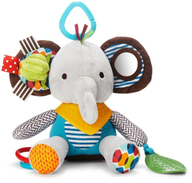 Skip Hop BANDANA BUDDIES ACTIVITY TOY - ELEPHANT Baby Toys Activities BN