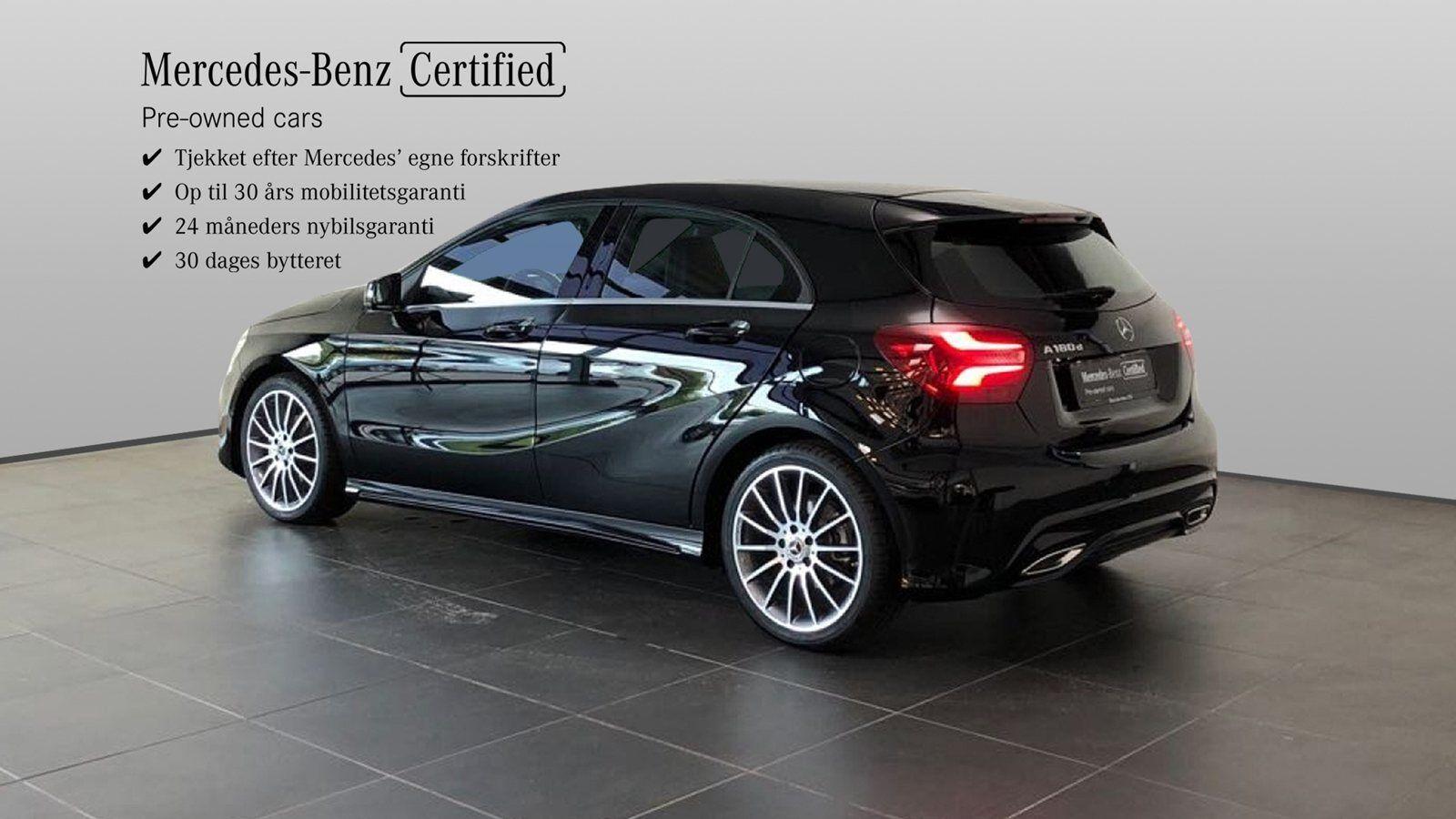 Mercedes A180 d 1,5 Edition 5d - 294.900 kr.