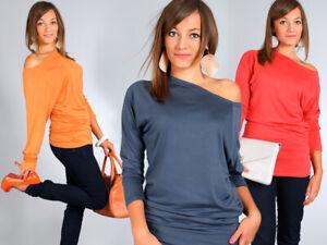 BNWT Women/'s Ladies 100/% Cotton Batwing Blouse Top Tunic Shirt Loose Fit UK