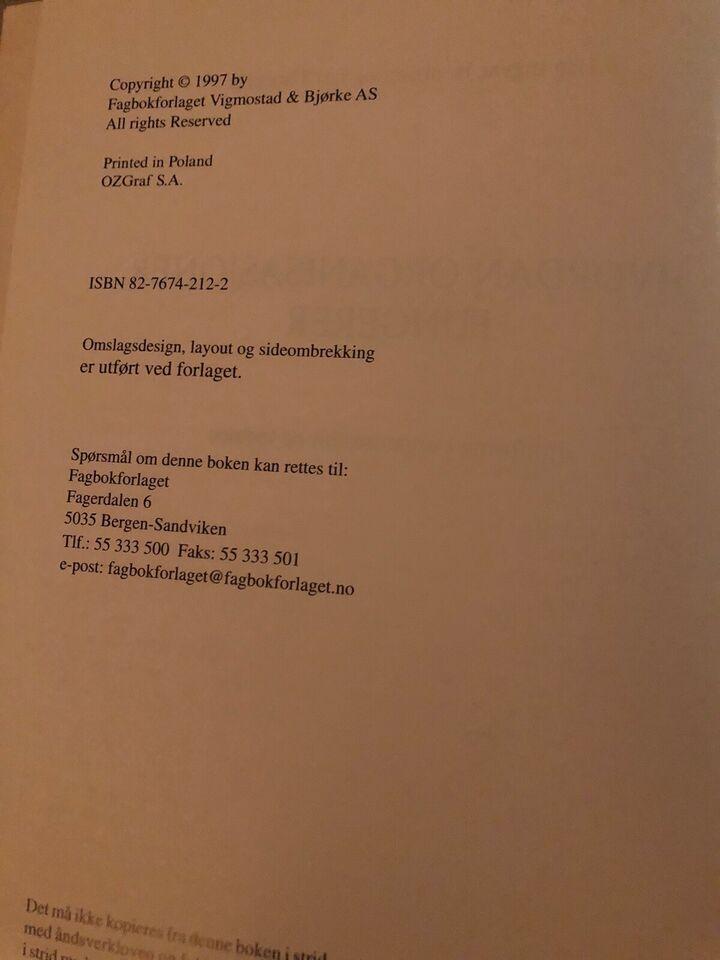 Hvordan organisasjoner fungerer, Dag Ingvar Jacobsen &
