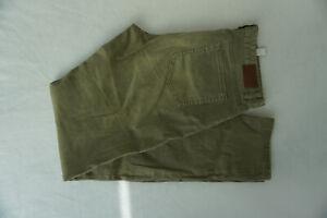 S-Oliver-Uomo-Jeans-Tubo-Pantaloni-Stretch-42-34-W42-L34-Verde-Kaki-Top-F11