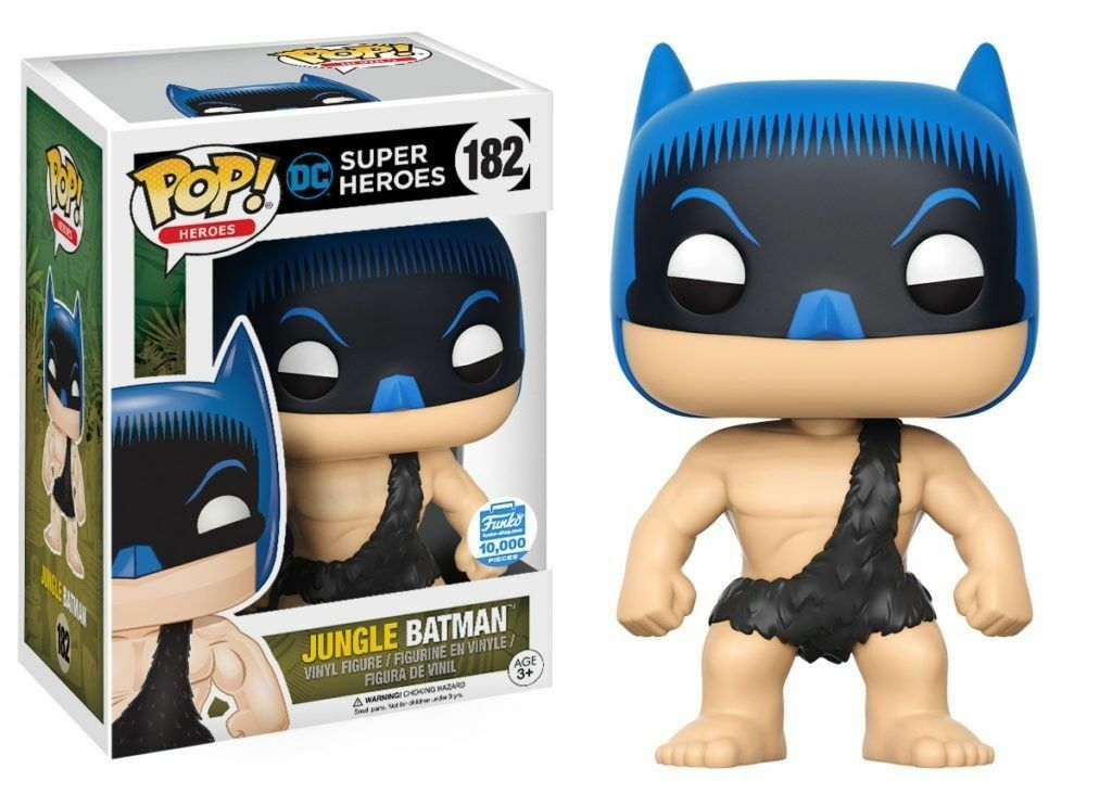 FONKO POP DC SUPER HERRE JUNGLE BATTMAN, FUNKO SHOP EXKLUSIVE VINIL FIGURE