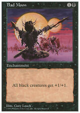 MTG BAD MOON - LUNA NERA - 5TH - MAGIC