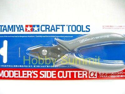 TAMIYA MODEL KIT TOOL CRAFT 74093 Modeler/'s Side Cutter α Gray