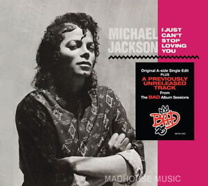 MICHAEL-JACKSON-CD-Don-039-t-Be-Messin-Round-AUSTRALIAN-UNRELEASED-I-Just-Can-039-t-Stop