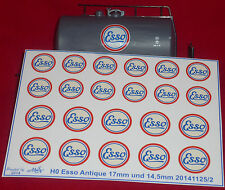 Esso Antique altweiss Decals Wasserschiebebilder 1:87 oder H0