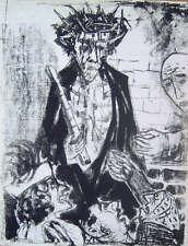 Otto Dix - Christus mit der Dornenkrone - Original Lithographie