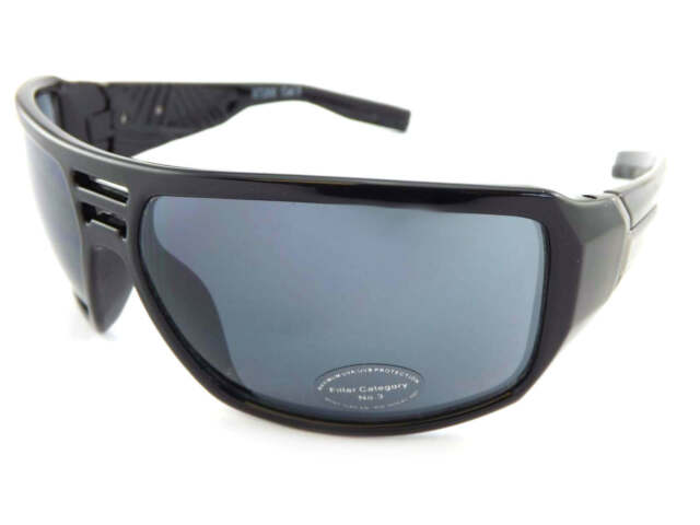 Bloc Eyewear Delta Matt Black Sunglasses SG12 Grey Grad//Cat 3 Lens