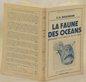 BOULENGER-LA-FAUNE-DES-OCEANS-OCEANI-BIOLOGIA-MARINA-PESCI-MOSTRI-MARINI-SEA