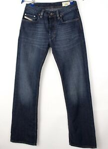 Diesel Hommes Levan Slim Jambe Droite Jeans Extensible Taille W28 L32 AVZ1523