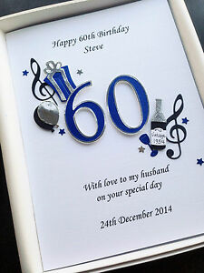Image Is Loading 60th BIRTHDAY CARD FOR MEN DAD HUSBAND SON