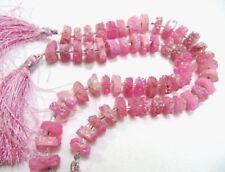 "Fabulous Ruby Solar Quartz Beads Size 20-25mm Red Colour strand 8-9/"" Long"