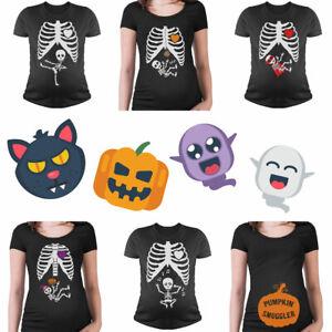 Funny Halloween Skeleton Maternity Costume T Shirt Pumpkin Smuggler Witch Singer Ebay