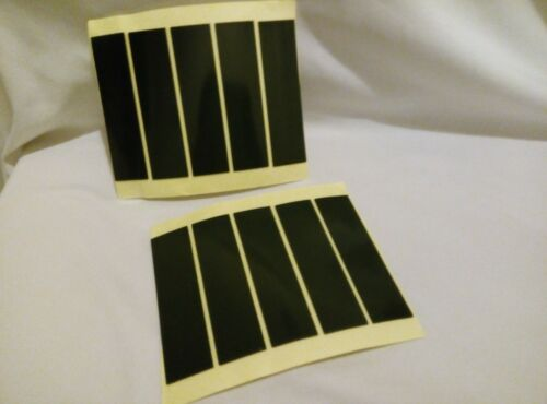 12 TARGA AUTO Sticky Pad Premium Quality Genuine PADS 1mm spessore 95x25x1mm