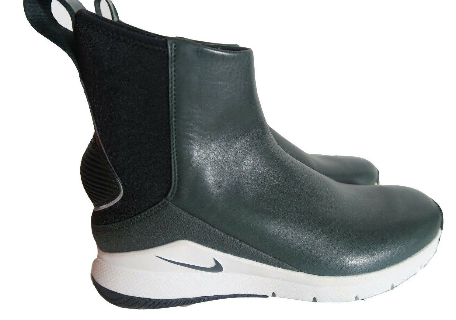 Nike Rivah Wmns Sz 8 HI Premium Green Leather Waterproof Waterproof Waterproof Wedge Boots AA1112-300 94f979