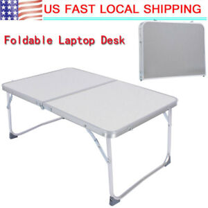 Alloy-Folding-Lap-Desk-PC-Laptop-Notebook-Bed-Table-Stand-Tray-Adjustable