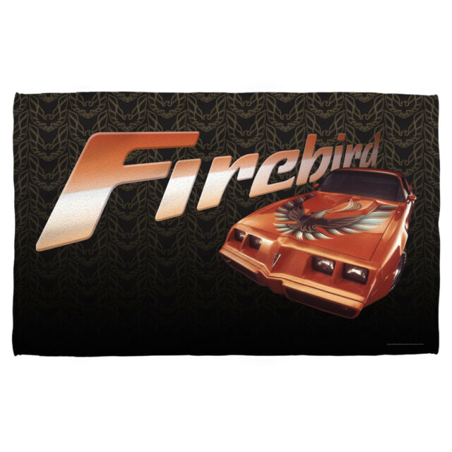 Pontiac Firebird Iconic Logo GALVANIZED FIREBIRD Lightweight Beach Towel