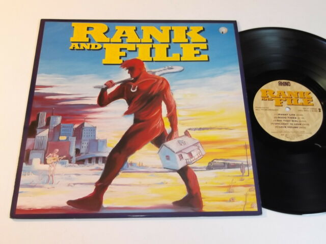 Rank And File Self Titled LP