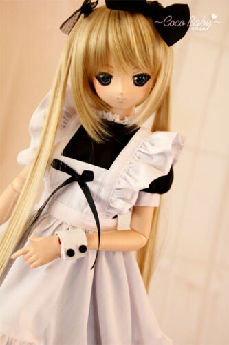 PF Maid Dress Suit Uniform 1//4 MSD 1//3 DD SD DZ AOD BJD Dolls Dollfie Outfits