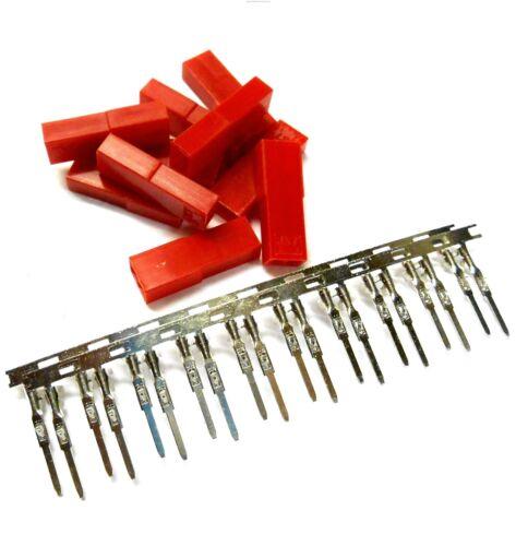 Rc Compatible Jst Bec Set Connecteur Femelle Prise Étamé X 10