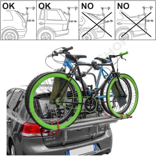 ab 2012 Fahrradträger Heckklappe für 2 Fahrräder Heckträger Skoda Citigo Bj
