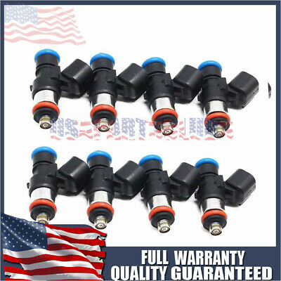 OEM Bosch 8 Fuel Injectors For 06-15 Chevy Corvette//Camaro Cadillac CTS V8 NEW