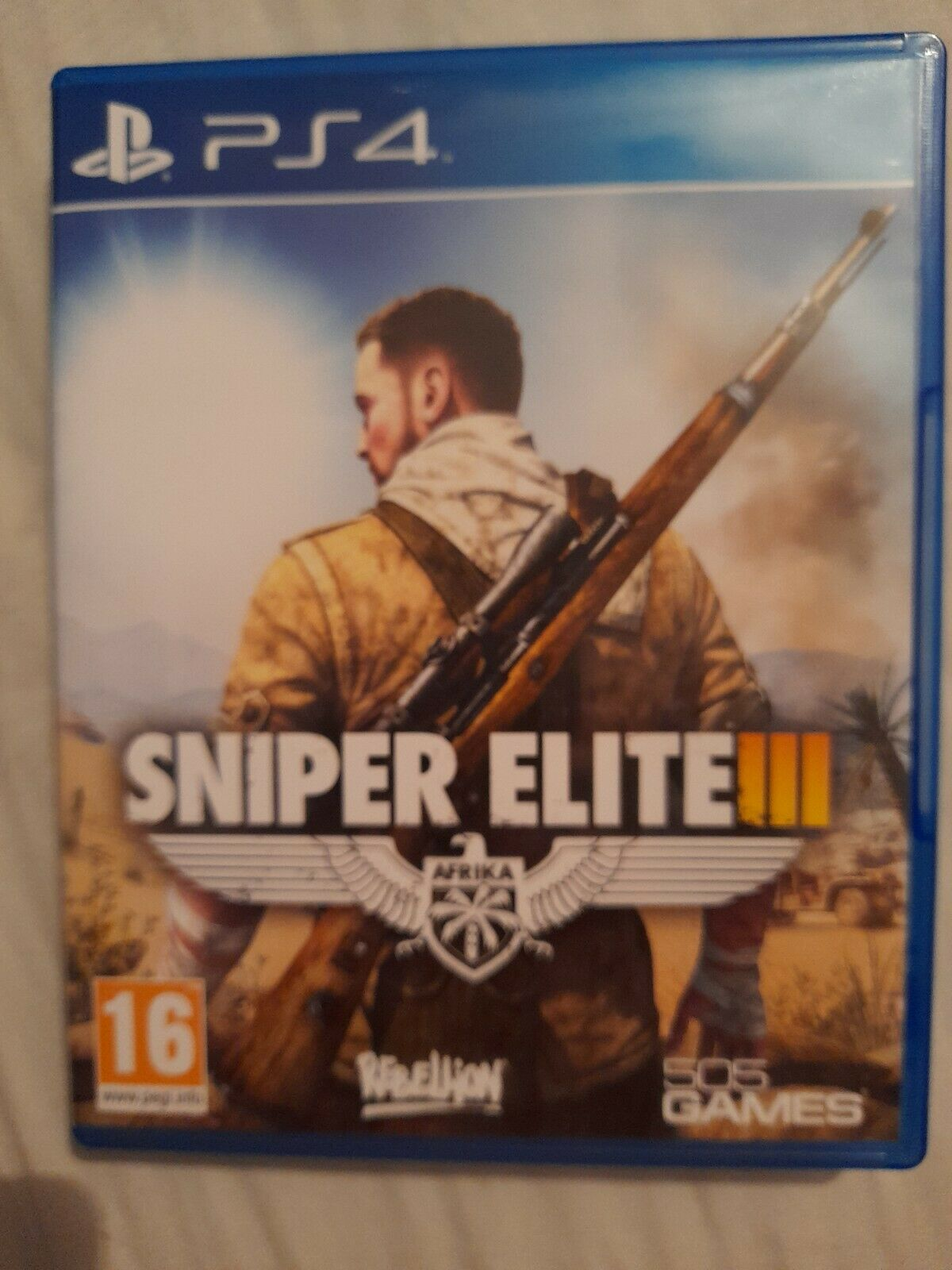 Sniper Elite III 3 PS4 Playstation 4 game. Excellent condition.