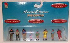 LIFE LIKE  PEOPLE # 1861 O scale On30 On3 1/43 People  Figures