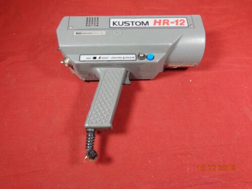 KUSTOM HR-12 HR12 pistol grip Radar GUN Speed detector Police DPS NEW STYLE