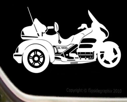 Motorcycle Decal For Honda Trike Riders GL1800 Decal-Sticker M-014