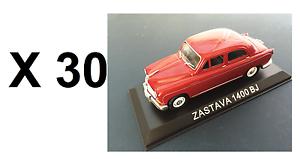 compras en linea Lotes Lotes Lotes de 30 coches 1 43 Zastava 1400 Bj Diecast Modelo Coche URSS al por mayor a granel BA65  el mejor servicio post-venta