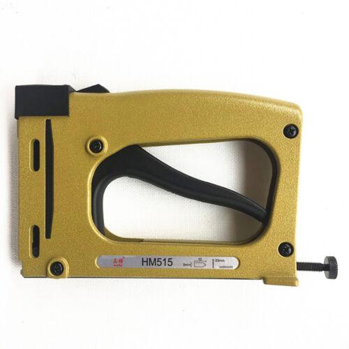 Point Driver Stapler Picture Framing Tool With 1000 pcs Nails Bilderrahmen Werkz